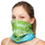 NATUREBlok Washable Reusable Neck Gaiter - OH LA LA - Cosmic Pond
