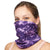 NATUREBlok Washable Reusable Neck Gaiter - OH LA LA - Purple Madness