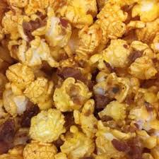 Spicy Barbecue Bacon Popcorn