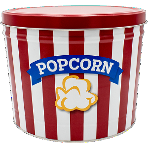 BLUE RIBBON POPCORN TIN 2 GAL