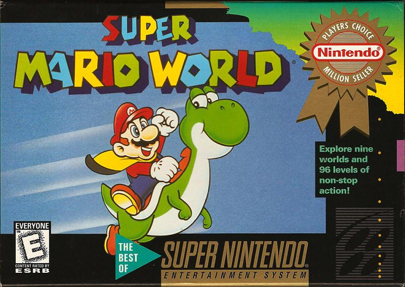 Image result for Super Mario World SNES