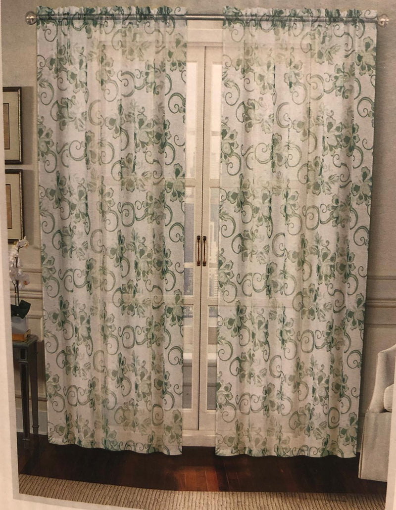 THE CURTAIN WINDOW PANEL