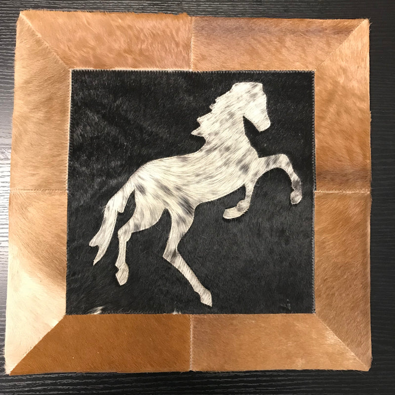 Western Horse Patchwork Pillow Case