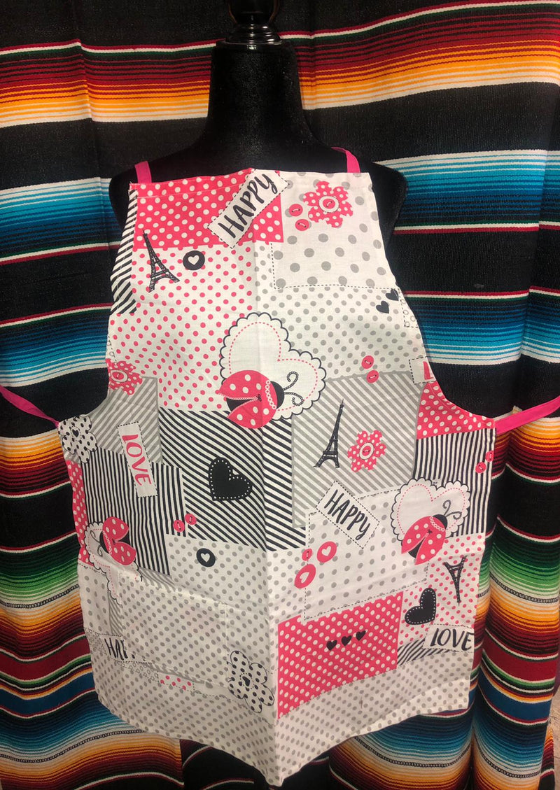 The Pink Paris Apron