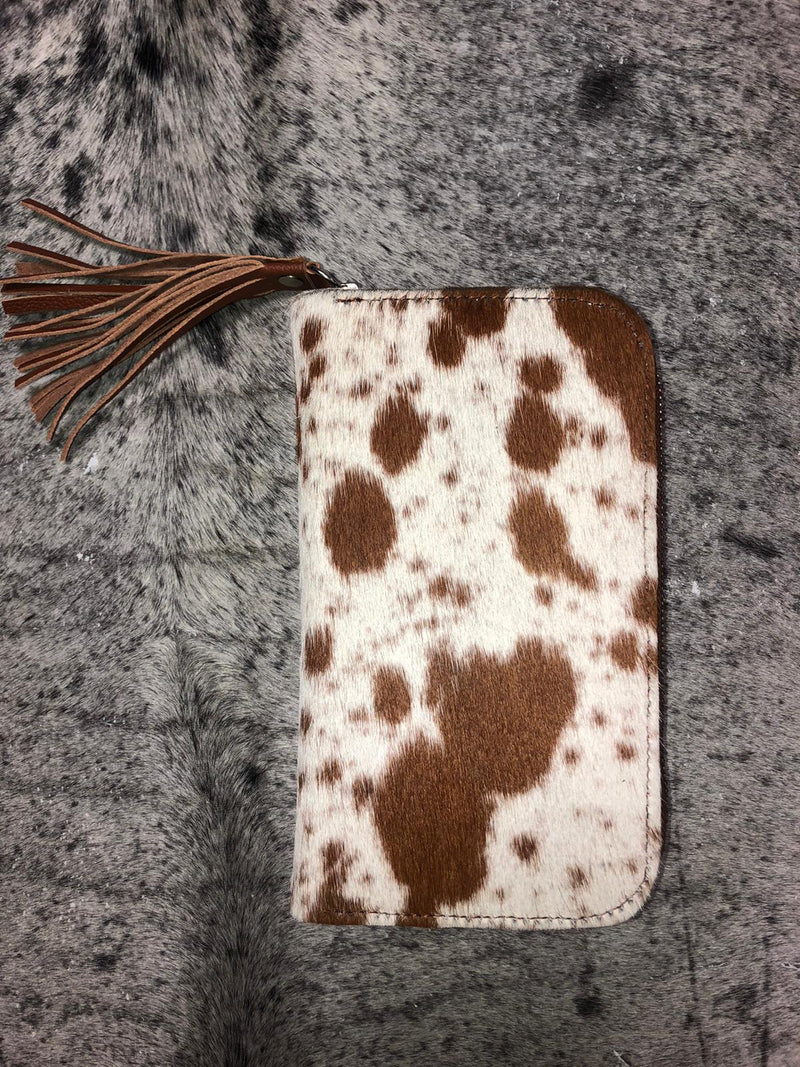 Light Brown Brazil Cowhide Wallet