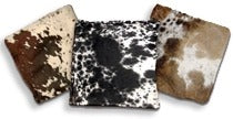 Cowhide Single Pillows 16' x 16'