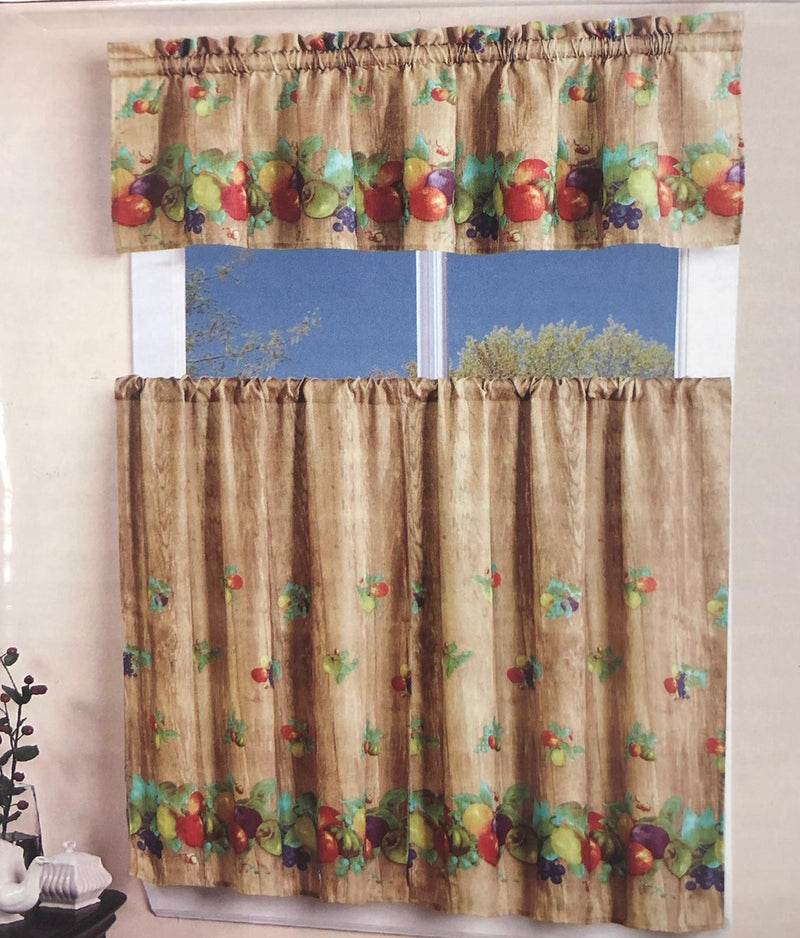 ELEGANT KITCHEN CURTAIN SET