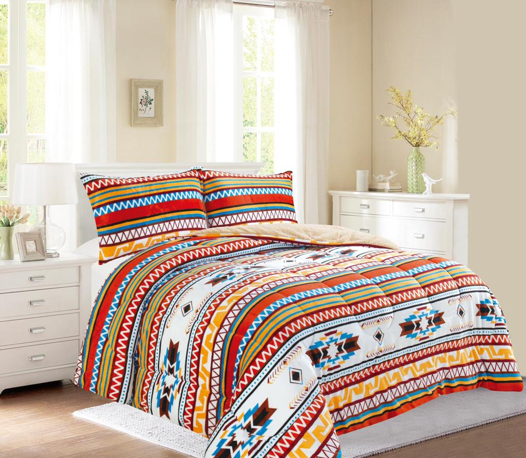 Western style 3Pc Bed Set