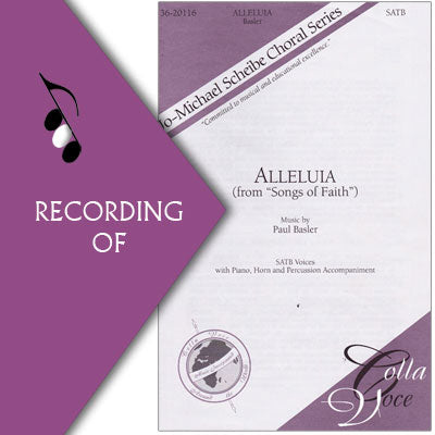 ALLELUIA (from Songs of Faith)
