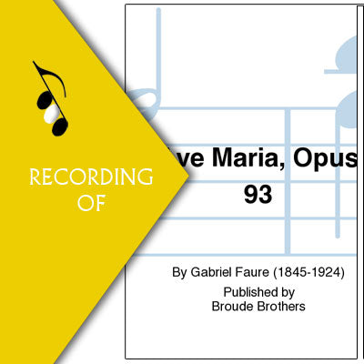 AVE MARIA, OP 93