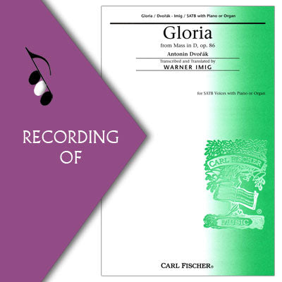 GLORIA (from MASS IN D)