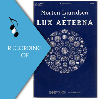 LUX AETERNA (Major Work)