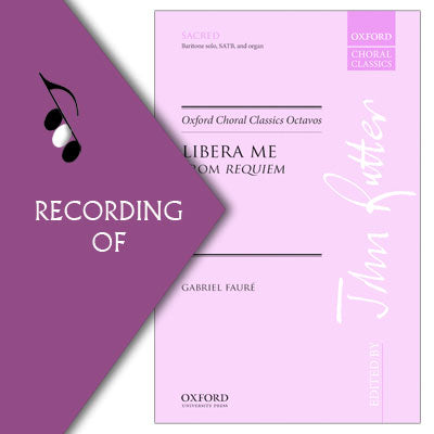 LIBERA ME (from Faure Requiem)