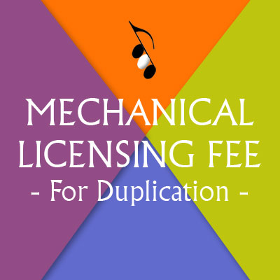 Duplication/User Fee Single Song