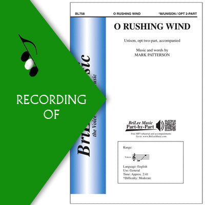 O RUSHING WIND