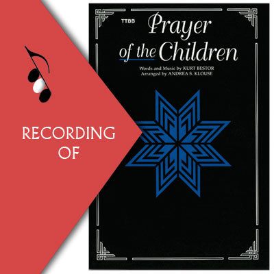 A PRAYER OF THE CHILDREN