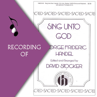 SING UNTO GOD (from Judas Maccabeus)