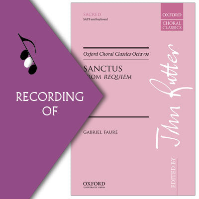 SANCTUS (from Faure Requiem)