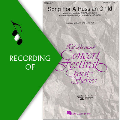 SONG FOR A RUSSIAN CHILD
