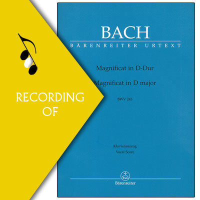 SUSCEPIT ISRAEL (from Bach Magnificat)