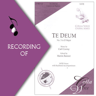 TE DEUM (No.3 in D Major)