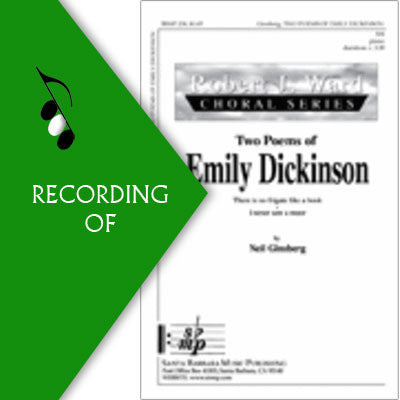 TWO POEMS OF EMILY DICKINSON
