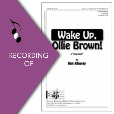 WAKE UP, OLLIE BROWN!