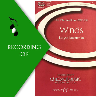 WINDS (No. 3 from Faywood School Songs)
