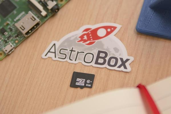 AstroBox Touch Pre-flashed 16 GB SD Card