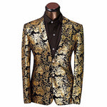 Gold Tuxedo Statement Men Argento Dubai