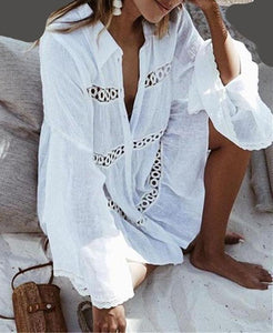 Elegant Capri Women Swimsuit Cover Ups
