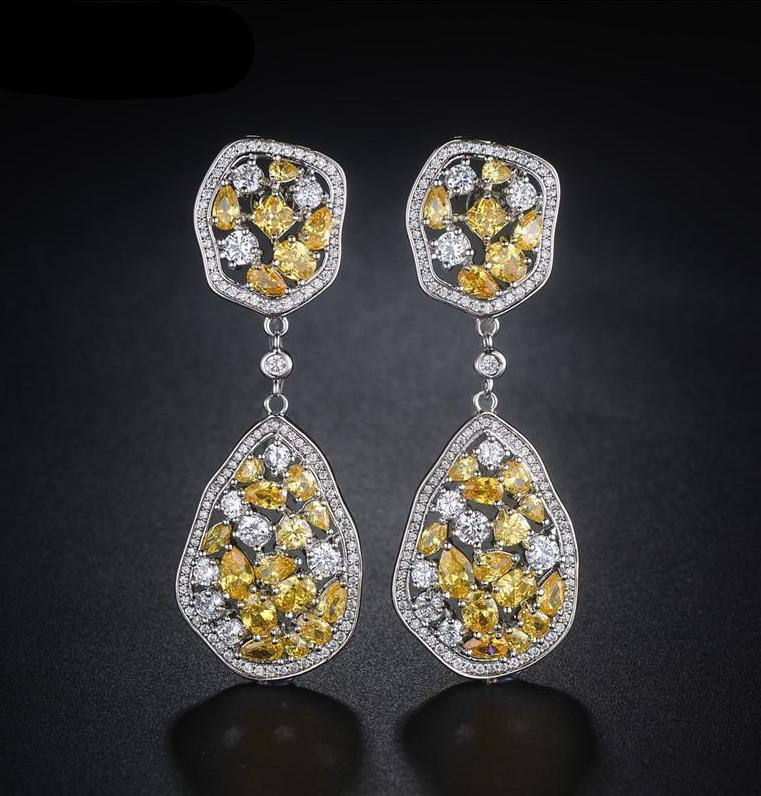 JEWELRY ARGENTO DUBAI CONCEPT STORE Luxury earrings rhinestones
