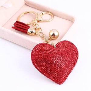 JEWELRY ARGENTO DUBAI CONCEPT STORE Key Ring Crystals heart