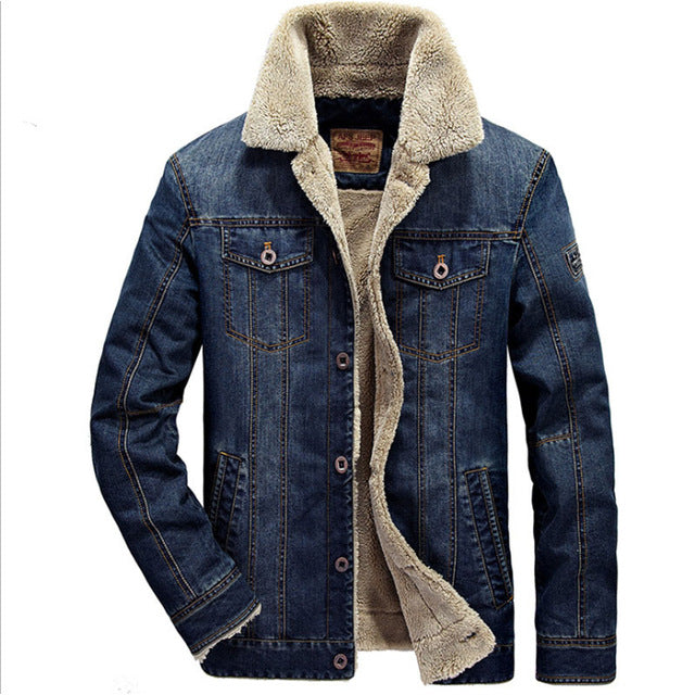Jeans Denim Jacket Men Ranch