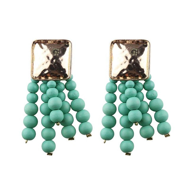 JELWELRY EARRINGS GREEN ARGENTO DUBAI CONCEPT STORE