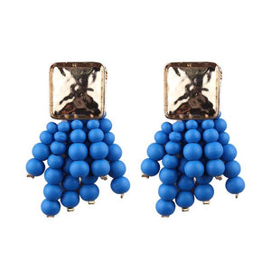 JELWELRY EARRINGS BLUE ARGENTO DUBAI CONCEPT STORE