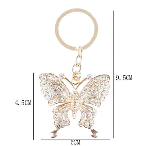 KEY CHAIN BUTTERFLY ARGENTO DUBAI CONCEPT STORE