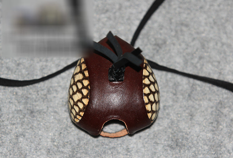 Leather Skin Dutch Style Headgear Eye Patch Eyeshade Blinkers Falconry