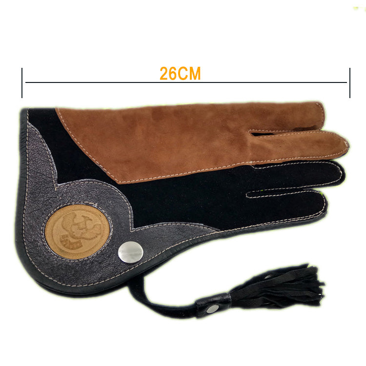 Falcon Eagle High Quality Leather Protective Glove Falconry Equipment