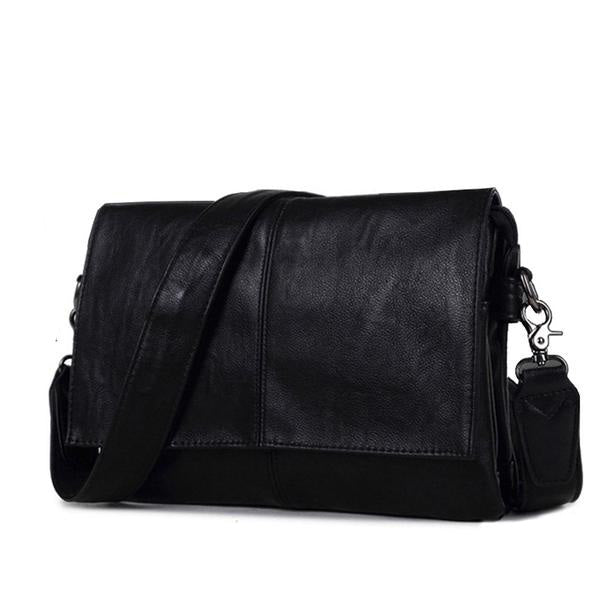 Large-capacity Messenger Leather Bag