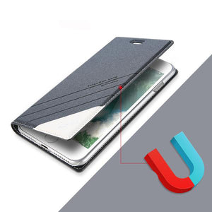 Magnetic Flip Cover For iPhone
