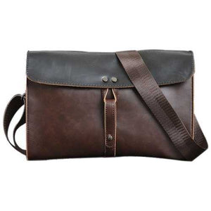 Vintage Travel Shoulder Bag