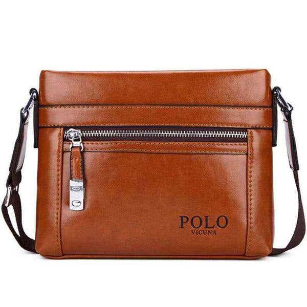 Theft-Proof Polo Messenger