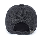 Thick Dark Grey Snapback Cap