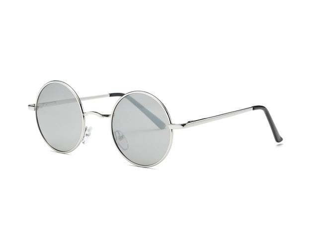 Round Grey Sunglasses