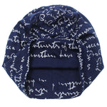 Stylish Blue Knitted Beanie