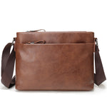 Noblemen™ Brown Vegan Messenger