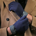 Classic Blue Touchscreen Gloves
