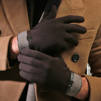Classic Brown Touchscreen Gloves