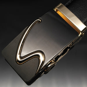 Gold S-Shaped Belt